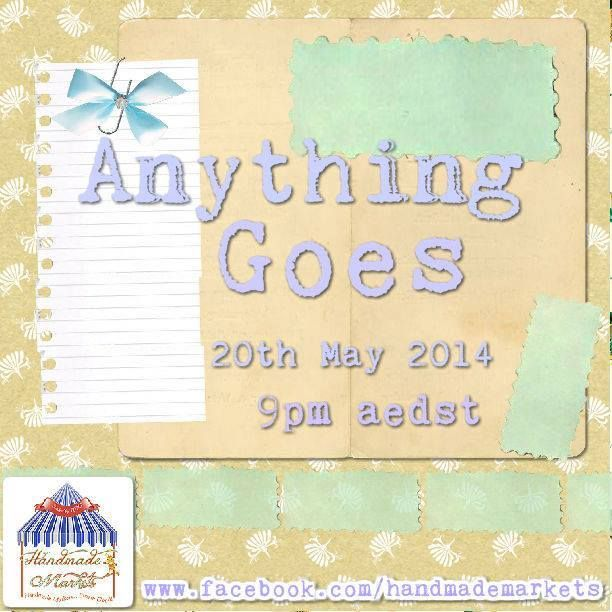 Anything Goes Market Night opens at 9pm, on Tuesday 20th May, 2014
