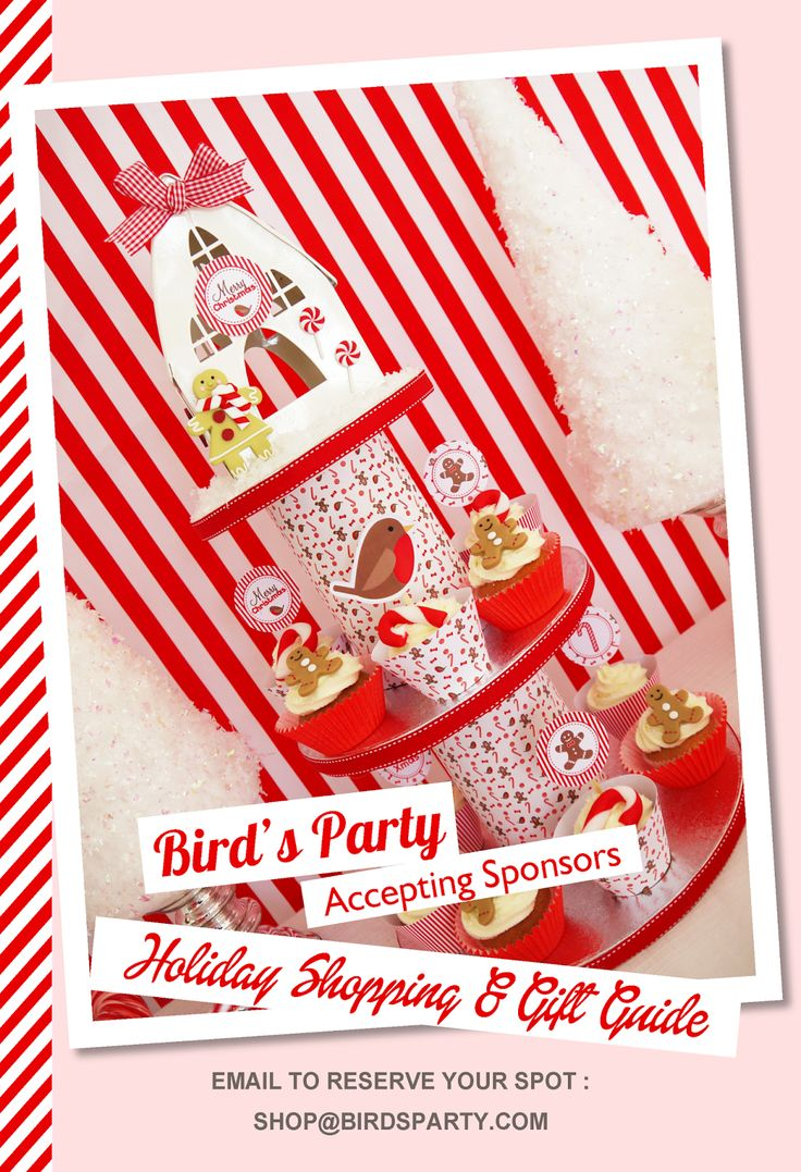 Bird's Party Holiday Shopping & Gift Guide