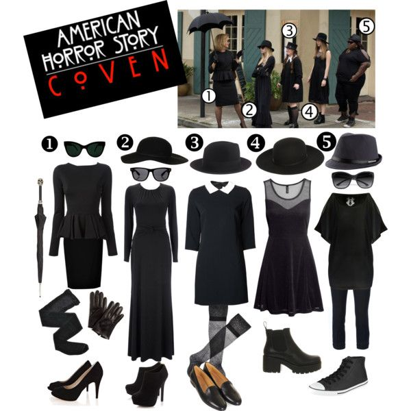 On Wednesdays, we wear black. American Horror Story:  Coven.