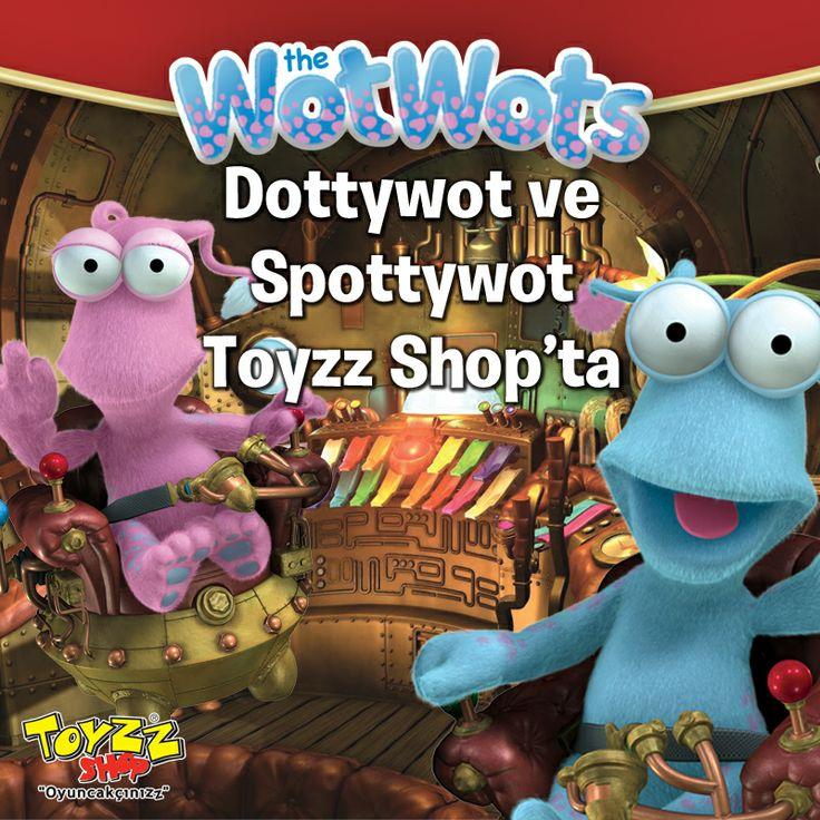 Buhar gücü ile çalışan uzay gemileri ile dünyamızı keşfetmeye çalışan uzaylı kardeşler Spottywot ve Dottywot'un maceralarının anlatıldığı sevilen çizgi film Wotwots'un peluşları , Espark Toyzz Shop reyonlarında yerini aldı.  Uzaylı kardeşler Spottywot ve Dottywot'un eğlenceli ve macera dolu dünyasına katılın.