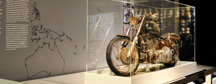 Six years after the Great East Japan Earthquake killed thousands, a battered Softail in the Harley-Davidson museum offers silent but powerful testimony.
