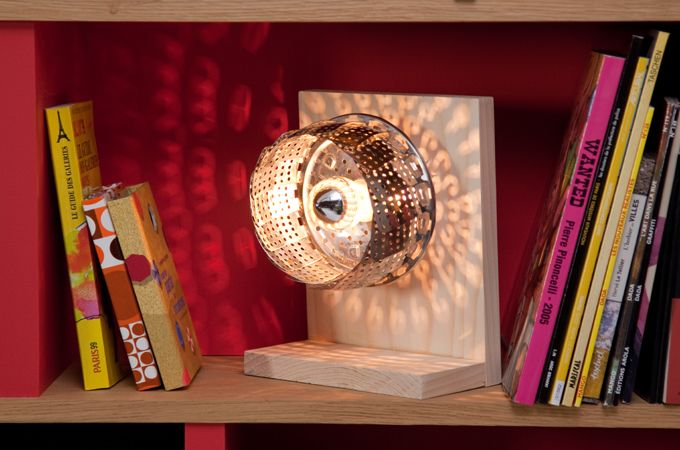 Transformer un panier vapeur en lampe | DIY Family