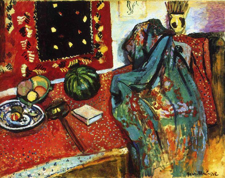 Henri Matisse, 1906, Le Tapis rouge, Intérieur au tapis rouge, oil on canvas, 89 x 116 cm, Musée de Grenoble.jpg