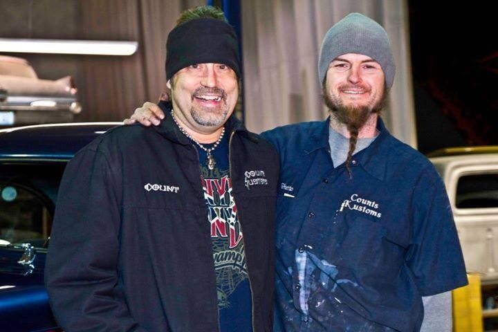 Danny (Counting Cars) with his painter Ryan