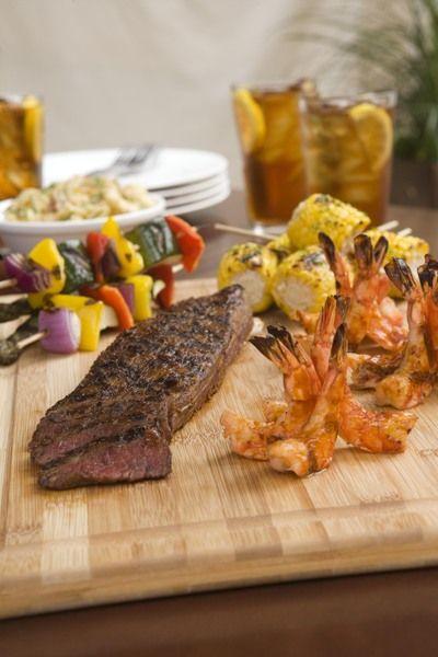 Steak & Prawns at Stanford's Restaurant & Bar in Seattle Southside