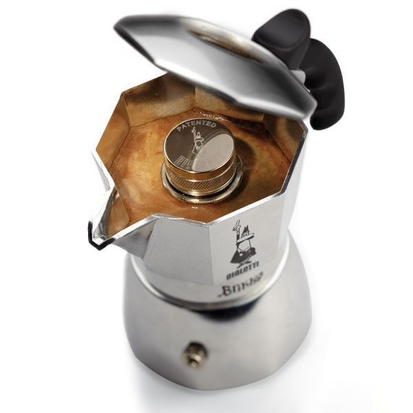 Bialetti Brikka Elite Espressokocher Crema 4 Tassen Espressomaschine mit Crema