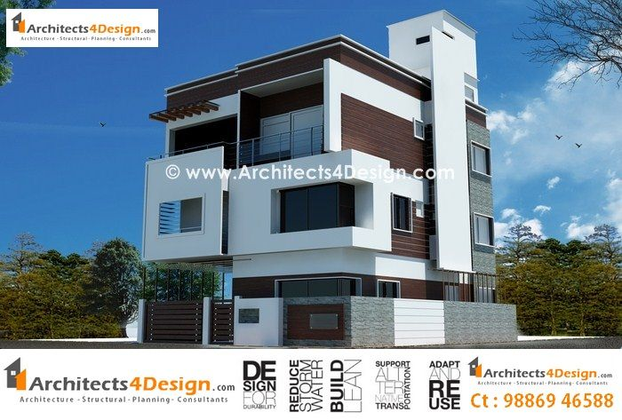 The 87 best images about residence elevations on pinterest for Duplex apartment plans in india