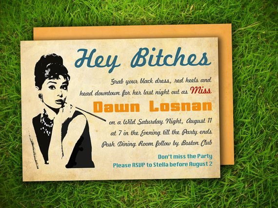 67 best Hen Party Invites images – Hen Party Invitation