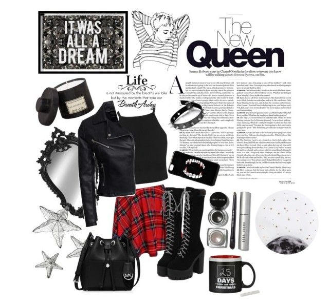 """The New Queen"" by kawaiitimemachine on Polyvore featuring moda, New Look, MICHAEL Michael Kors, ASOS, Black Rivet, Bobbi Brown Cosmetics, Lollipop, Oliver Gal Artist Co. ve Mad et Len"
