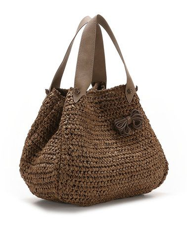 Take a look at this Bronze Indo Satchel by Abbacino Bags on #zulily today!