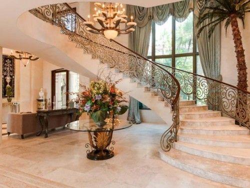 Best 16 Elegant Mansion Staircase Designs 2015 Luxurious 400 x 300