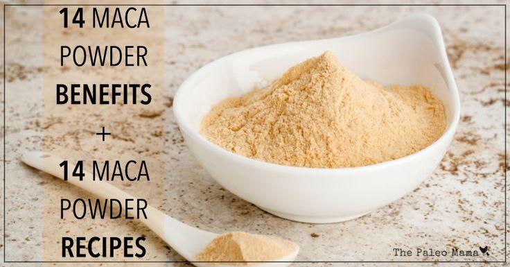 14 Benefits of Maca Powder and 14 Maca Recipes - We love Maca root powder!!