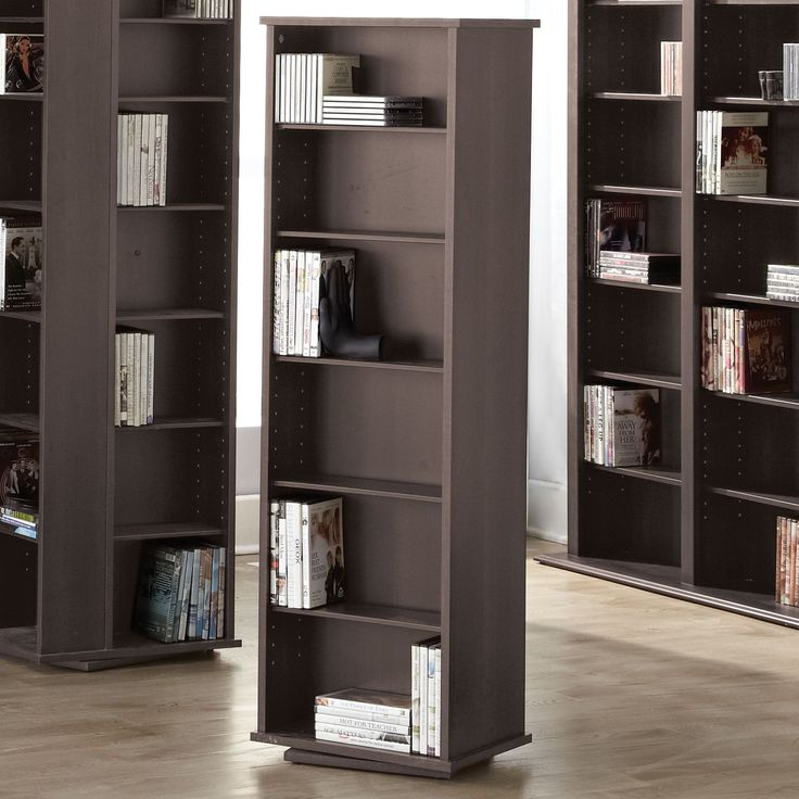 2-Sided Swivel Media Storage Tower #SearsBack2Campus