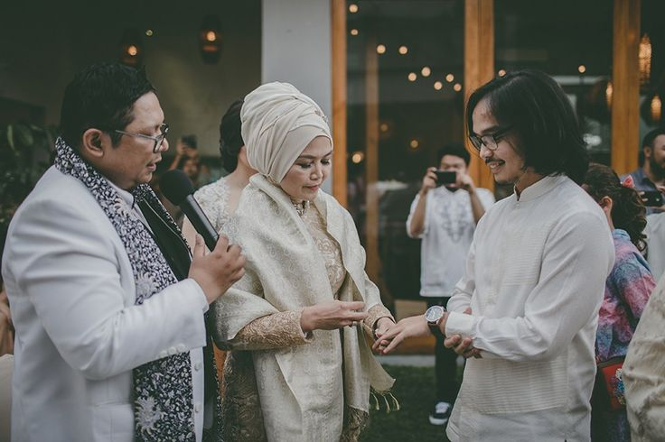 Broken White Themed Engagement at Tjendana Bistro -