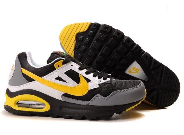 Mens Nike Air Max Skyline Trainers Yellow/Black/White For Sale