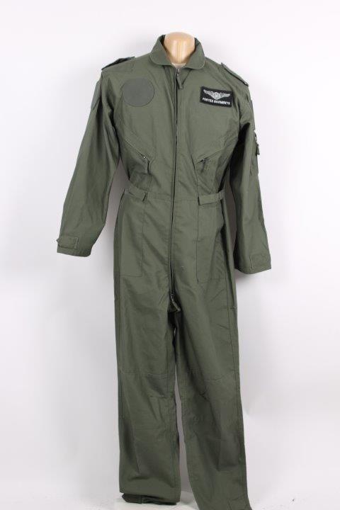 pilotsuit polyester/cotton grøn