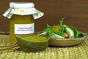Feijoa kasundi – Recipes – Bite