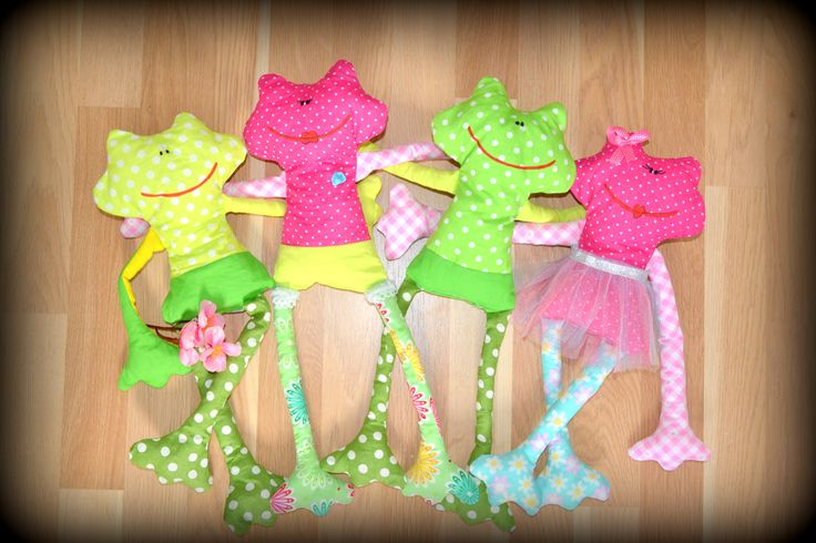 frog - handmade
