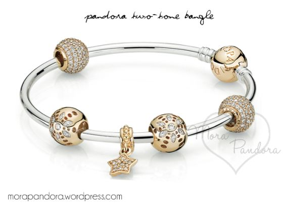 pandora armband charms gold