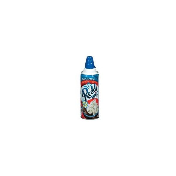 Conagra Reddi Whip Extra Creamy Whipped Cream 7 Ounce at... (125 BRL) ❤ liked on Polyvore featuring food, food and drink, food & drinks and fillers