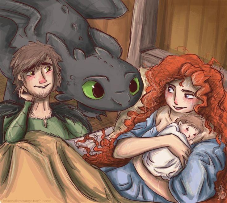 (Fan art) Merida, Rapunzel, Jack et Hiccup - The Big Four - Page 25