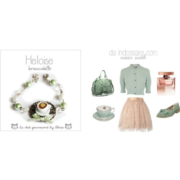 Heloise - bracelet - Le chat Gourmand by Alixia, created by alixia88.polyvore.com