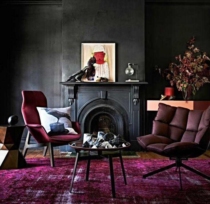 Burgundy Interiors, Interior Design, Designer Inspiration Board: Burgundy, Bar Napkin Productions, bnp-llc.com