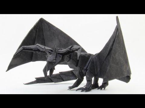 Origami Darkness Dragon 2.0 Tutorial Tadashi Mori Youtube Chanel