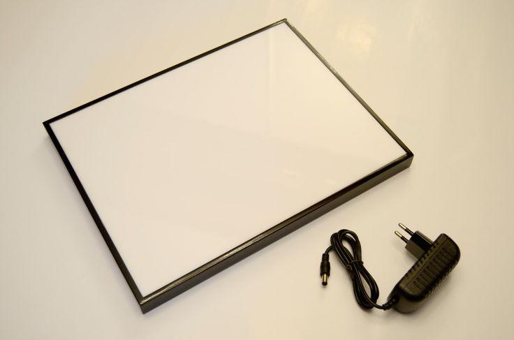 Mesa de luz para dibujar / calcar, iluminación de Led apto para tamaños de papel Din A4 de VILLAGUANGUITO en Etsy