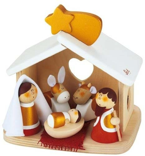 37 best dcor de crche images on pinterest christmas ideas are you interested in our wooden toy nativity set with our christmas nativity set you need look no further solutioingenieria Choice Image