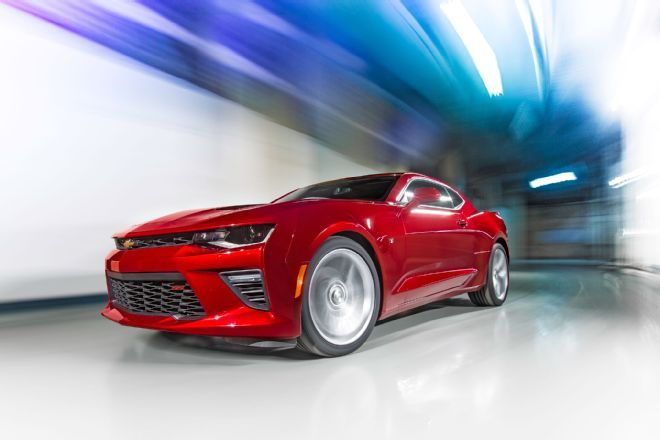 The 2016 Chevrolet Camaro SS can hit 60 mph in 4.0 seconds and will pull 0.97 g in corners. Read full performance specs for all three engines here.