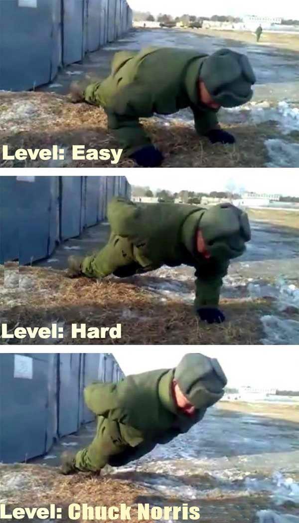 Level Chuck Norris http://ibeebz.com