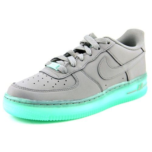 économiser 88a1c edea1 Nike Air Force 1 Premium (GS) Youth US 5.5 Gray Basketball ...