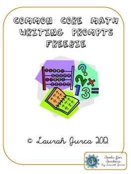 Common Core Math Writing FREEBIE