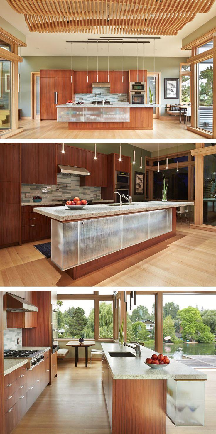 Vitrinen zeitgenössischen häuser träumen küchen kücheninseln träumen häuser speiseräume küche ideen innere gehäuse