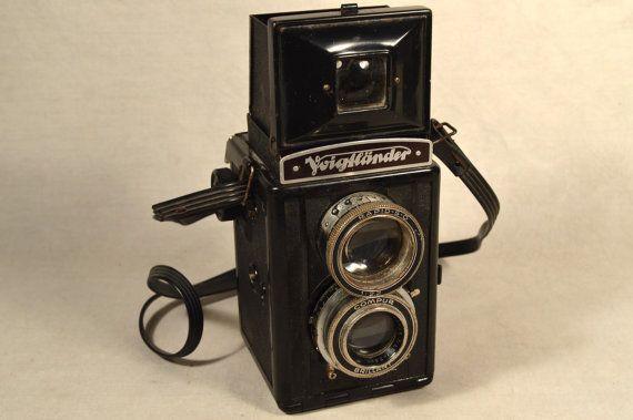 Voigtlander Brilliant Camera Bakelite TLR by SnapshotsThroughTime