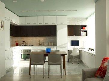 Minimalist kitchen design - modern - kitchen - new york - Urban Homes - Innovative Design for Kitchen & Bath