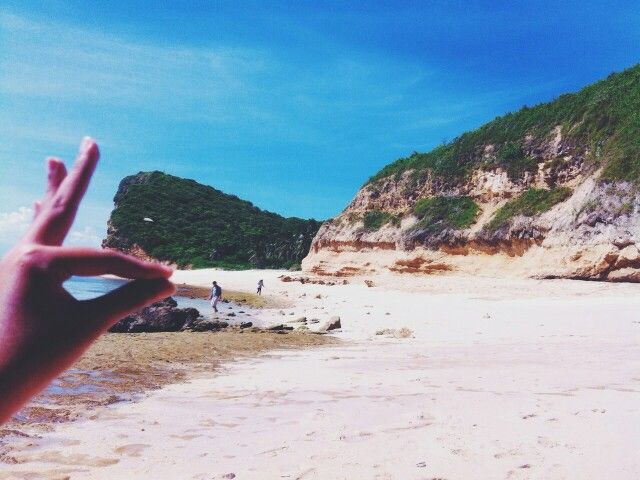 #Humpz at Heaven Island (Pulau Surga) ,Lombok,Indonesia         ●cr Photo by friend●