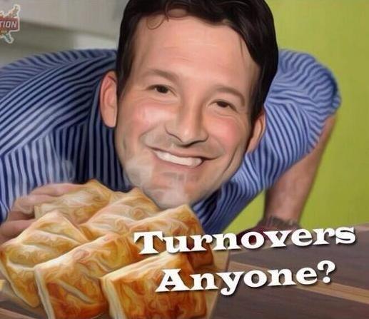 The Cowboys' star QB, Tony Romo has set the meme world afire after a fourth quarter choke for the ages..