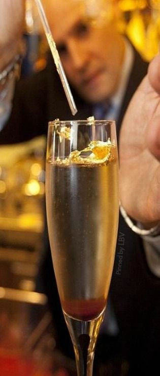 Luxury: Most Expensive ♥✤The world's most expensive cocktail - priced at $14,430 USD which includes Cristal #champagne and1888 Samalens Vieille Relique Vintage Bas Armagnac