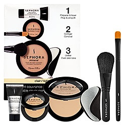 This is better than a lot of high end foundations and concealers. Good coverage, blendable, natural looking, and the kit is a great bargain.