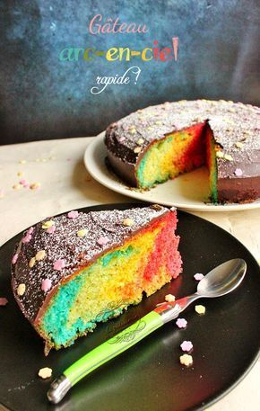 Rainbow Cake Facile Recette Thermomix