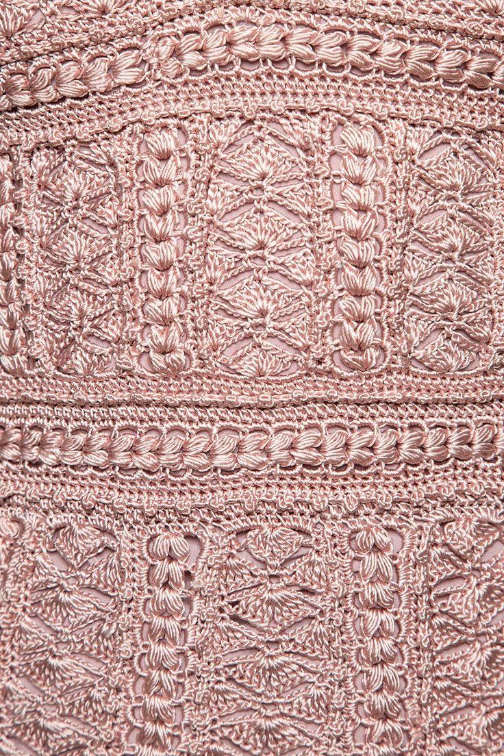 Vestido Crochet Venice Madrepérola - Vanessa Monto - vanessamontoro