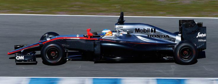 Mobil1 es patrocinador de equipos de fórmula 1 como el Mclaren Honda de Fernando Alonso.
