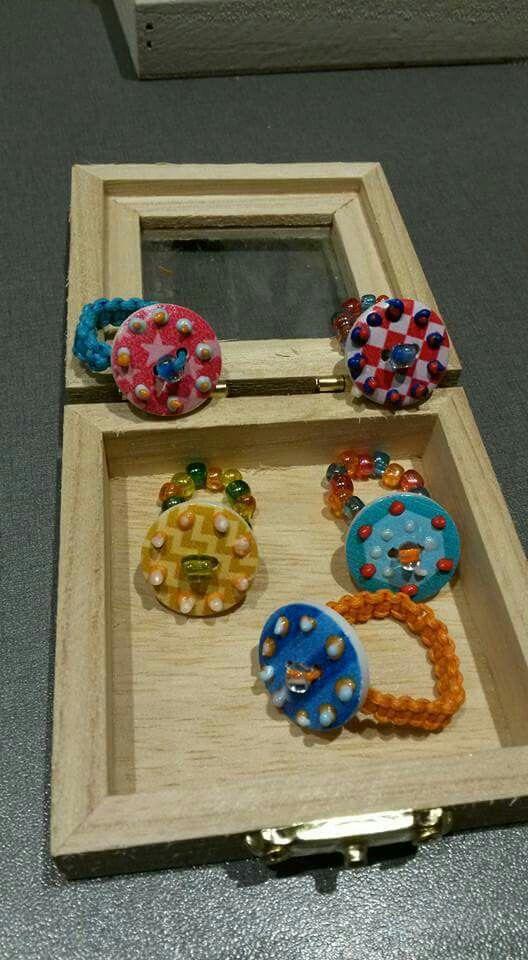 Ringen maken met knopen en 3D lijm