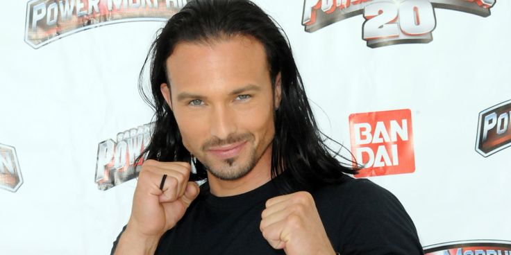 Ricardo Medina Jr., who played a Power Ranger in two incarnations of the popular TV series, was arrested on Saturday and accused of killing his roommate with a sword at their Palmdale, Calif., home.   Medina, 36, allegedly got into an argument with...