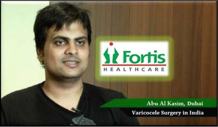 Fortis Hospital Bangalore Successful Varicocele Surgery of Dubai Patient with IndianMedguru Consultants