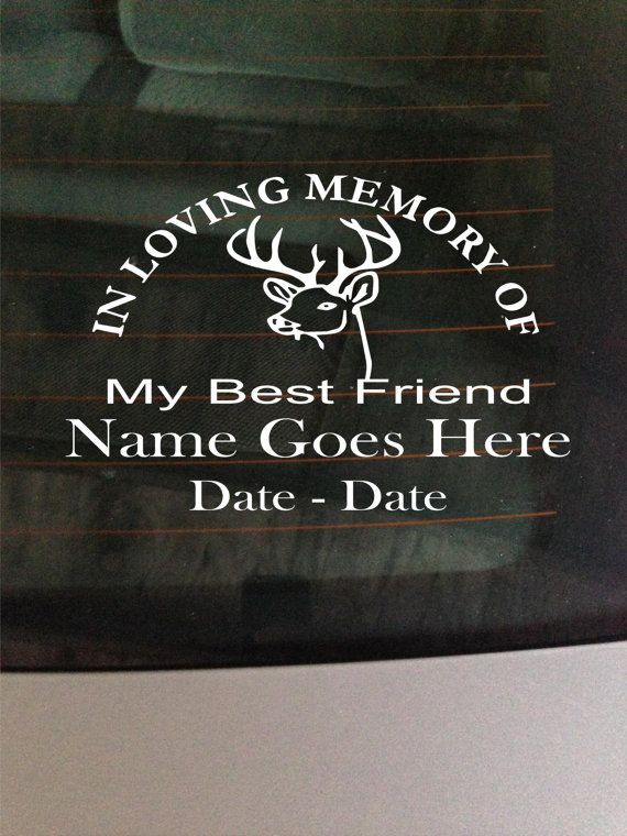 Best Memory Decals Images On Pinterest Animales Pets And Quote - Window decals in memory of