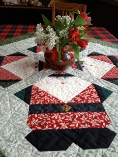 I love this as a Christmas table runner...