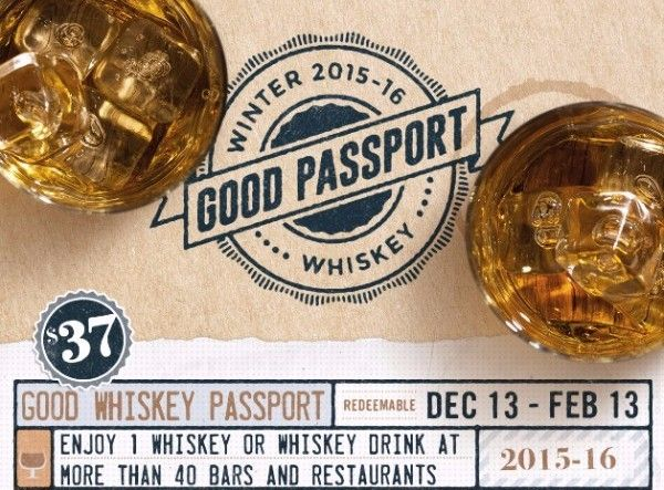 IT'S BACK!! The NYC Good Whiskey Passport - $37 for 40+ Whiskey Drinks From 40+ Locations!